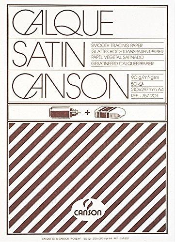 Canson 489556 Blocco Disegno Carta Lucida 200757201
