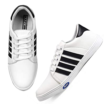 T-Rock Mens Sneaker Shoes Black  Buy Online at Low Prices in India -  Amazon.in 098ba8a43d45c