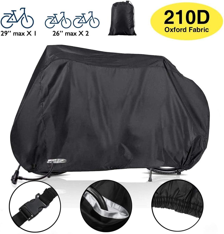 Audew Funda Bicicleta Exterior, 210D Oxford Cubiertas para ...