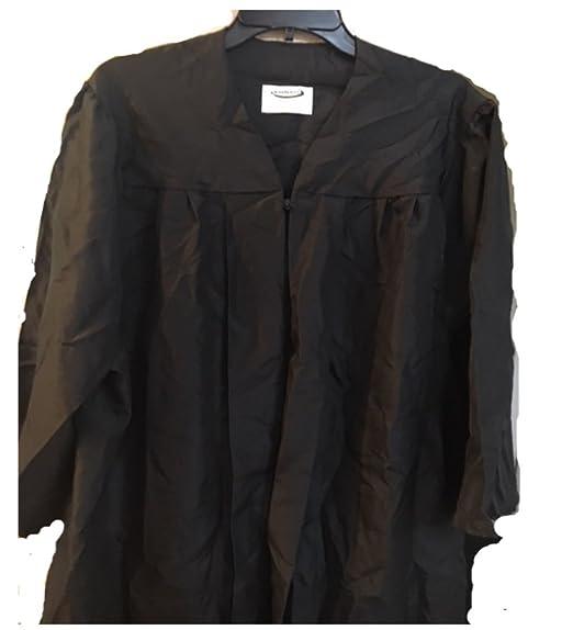 Amazoncom Jostens Master Black Matte Pre Owned Graduation Gown