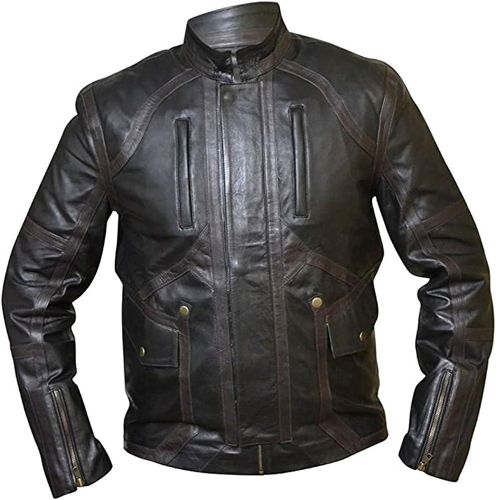 Classyak Mens Fashion Stylish Leather Biker Jacket