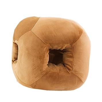 Amazon.com: Almohada para dormir de felpa para escritorio de ...