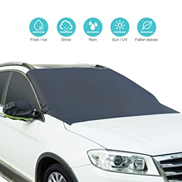 Amazon Com Magnetic Windshield Snow Cover Car Sun Shade For All