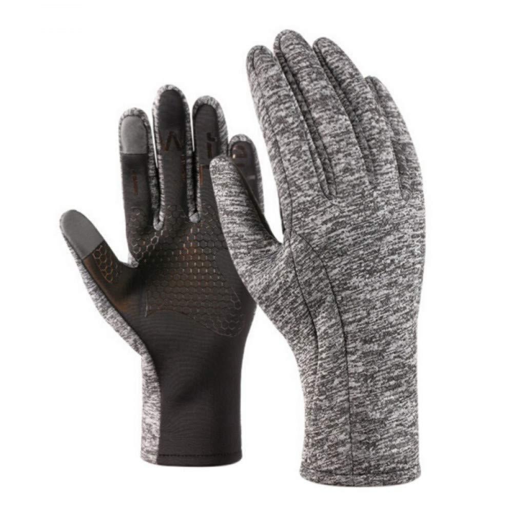 GLOVESCOA Outdoor-Sport-Laufhandschuhe, um warme Sport-Fitness-Sport-Handschuhe im Freien Laufen Sportgeräte zu halten