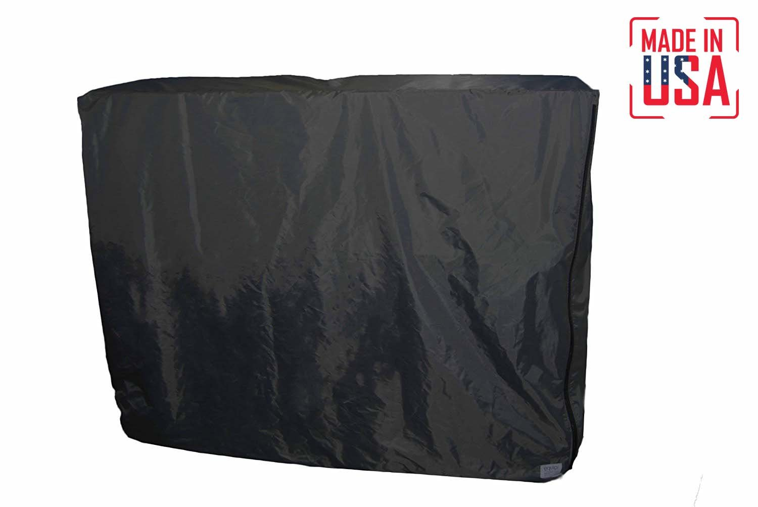 THE BEST Protective Cover for 6 ft. Table. With Security Cable & Lockable Zipper. Ideal for Trade Shows/Exhibits. Water-Resistant & Fire-Retardant MADE IN USA. 3-Year Warranty. (Black, 500D Polyester)