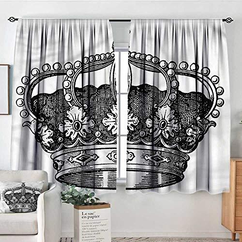 PriceTextile Queen,Rod Curtains Antique Royal Monarch 52