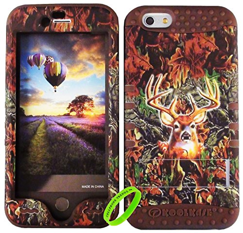 Cellphone Trendz HARD & SOFT RUBBER HYBRID HIGH IMPACT PROTECTIVE CASE COVER for Apple iPhone 6 4.7