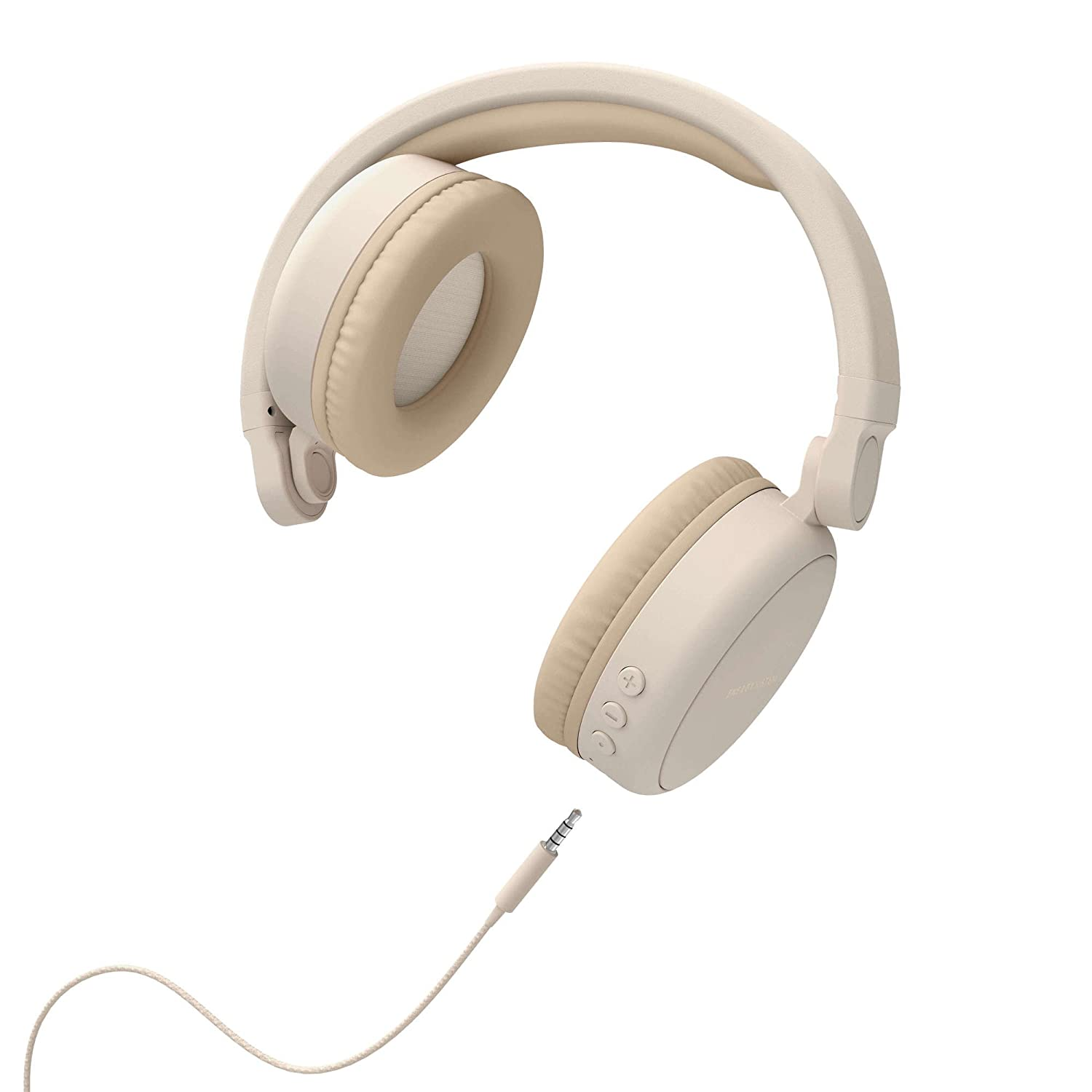 Energy Sistem Headphones 2 - Auriculares con Bluetooth (Over-Ear, Audio-In, Long Battery Life, 180 Plegable) Beige: Energy-Sistem: Amazon.es: Electrónica