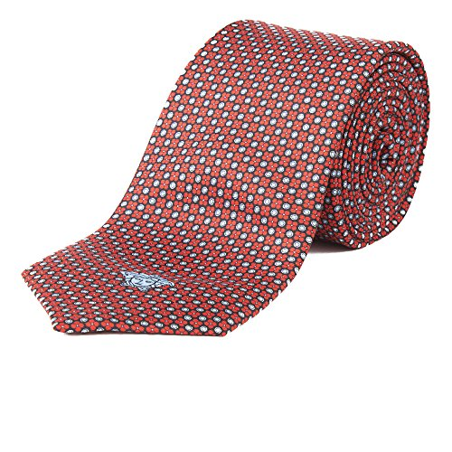 Used, Gianni Versace Men's Red Italian Silk Tie for sale  Delivered anywhere in USA