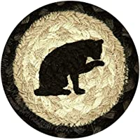 Earth Rugs 31-IC238C Cats Round Printed Coaster, 5