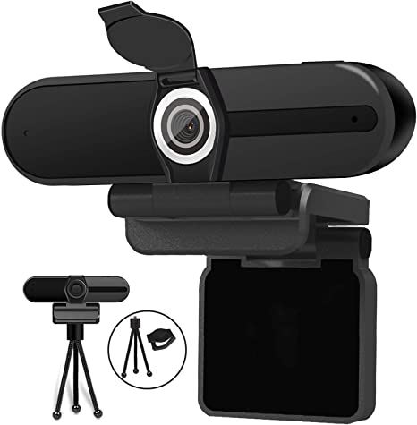 4K Webcam, Webcam 8MP HD Computer Camera with Microphone