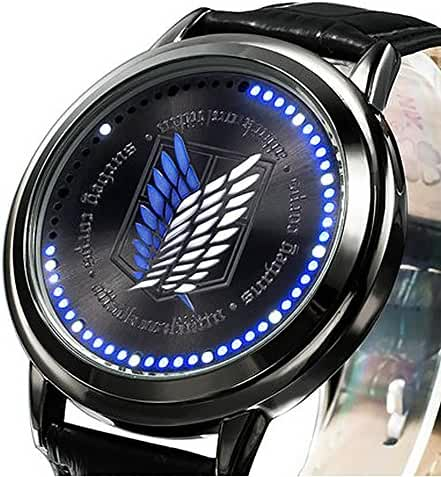 Wildforlife Anime Attack on Titan Survey Corps Collector's Edition Touch LED Watch