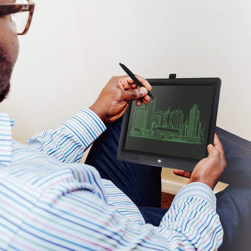 """Zeichenblock, 15"""" Portable Ultra Thin Writing Tablet-Geschenke für Kinder Büro LCD Writing Handschrift Pads Tablet Zeichnung Spielzeug Sperrtaste F"""