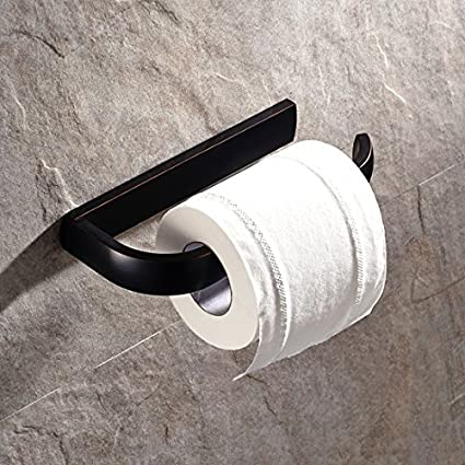 Vintage Engraved Design Swivel Toilet Roll Paper Rail Holder With Cover Wall  Mounted Bathroom Accessories Holder
