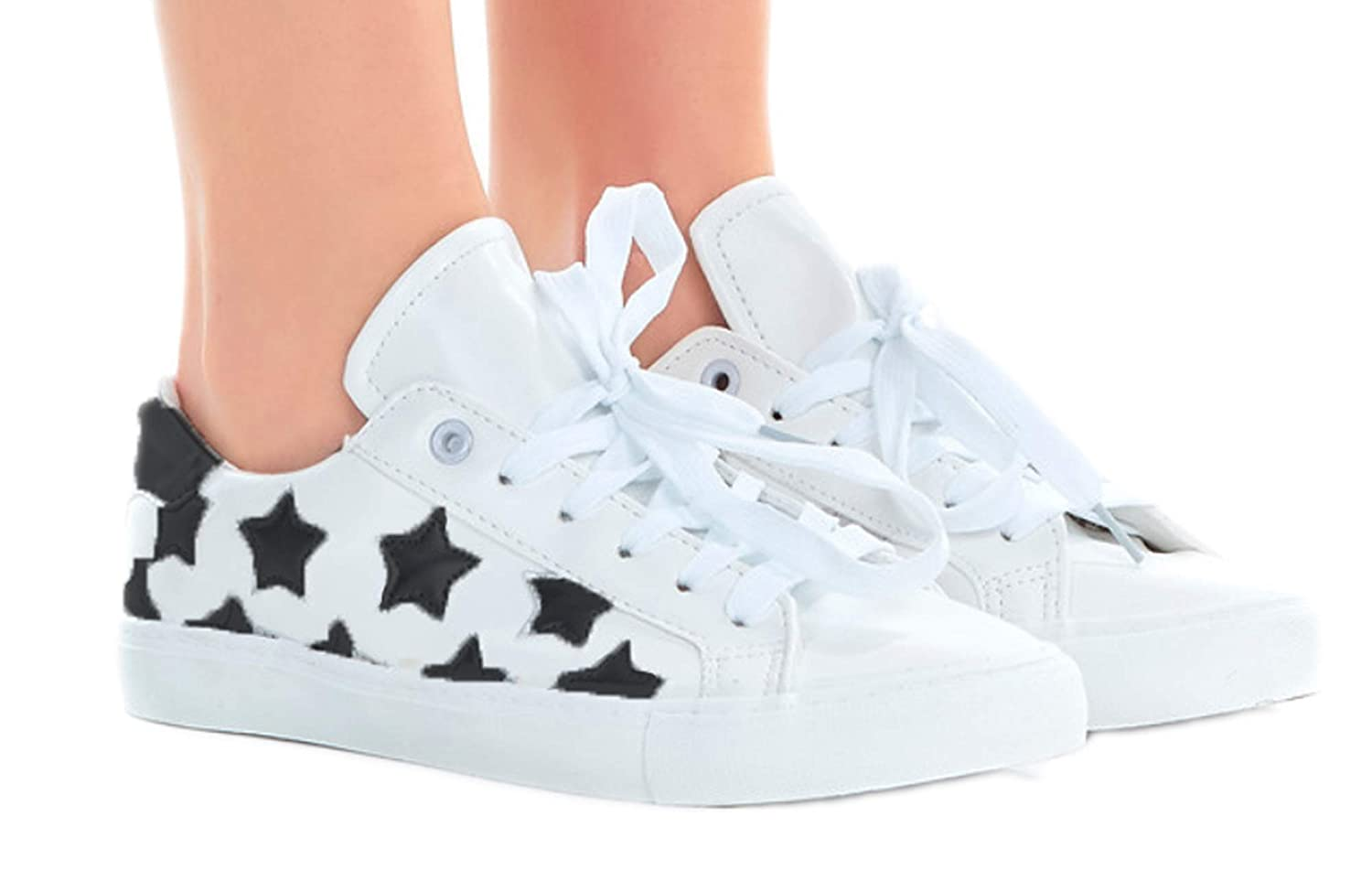 Shop Pretty Girl Vegan Leather Euro Star Shoes