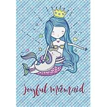 Joyful Mermaid: Little Unicorn and Beautiful Mermaid,Gratitude Journal for Kids, Kids Gratitude Journal, Gratitude Notebook, Grateful Daily Journal, Mind Joyful, Children Happiness Notebook