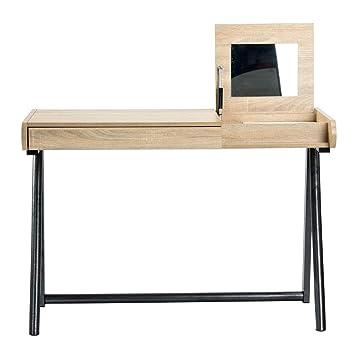 Mesa de Escritorio Mirro de Tablero DM con cajón, Mesa de Trabajo ...