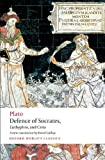 Defence of Socrates, Euthyphro, Crito (Oxford World's Classics), Plato, 0199540500