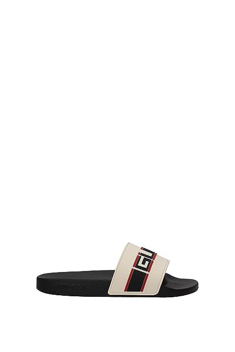 Zapatillas y Zuecos Gucci Hombre - Caucho (522884JC200) EU: Amazon.es: Zapatos y complementos