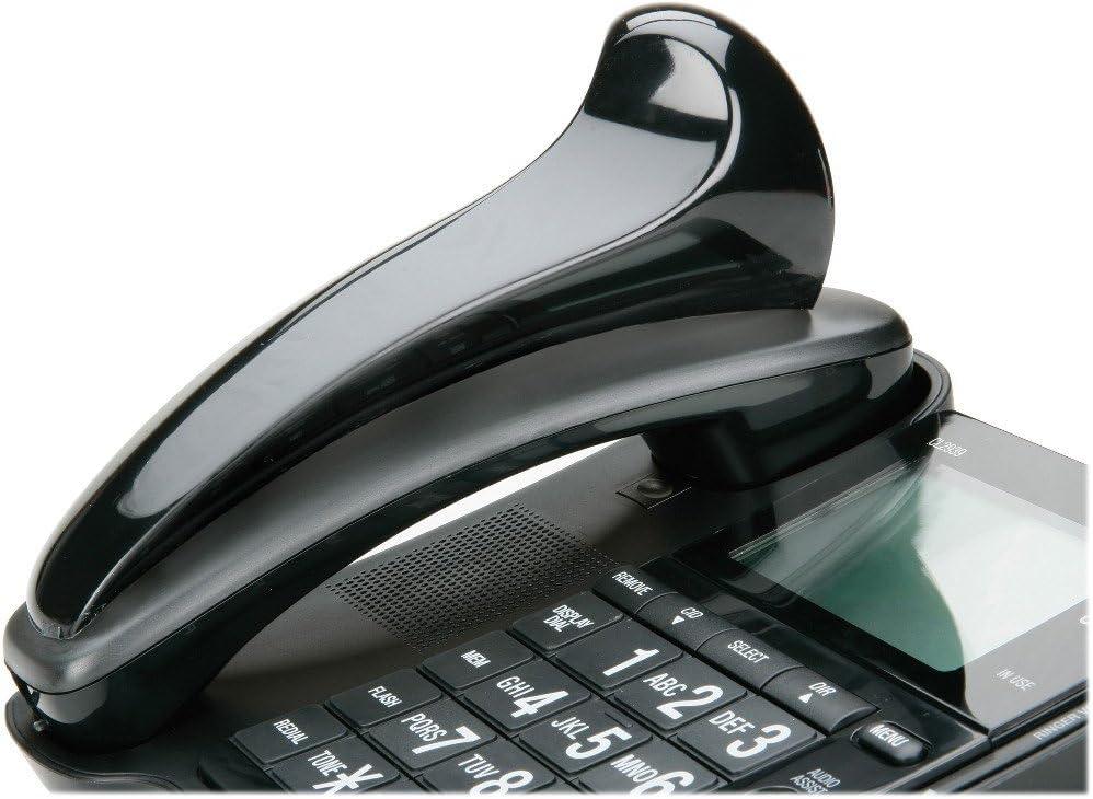 Skilcraft Telephone Shoulder Rest - Curved Shape - Black