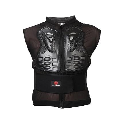 ECLEAR motocicleta protección chaqueta con chaleco arnés de ...