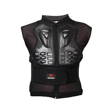 eclear motocicleta protección chaqueta con chaleco arnés de pecho de malla Armor protector de espalda al aire libre Racing Sport Gear para cross ATV Quad ...