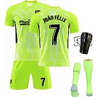 Mijiang Uniforme De Fútbol para Adultos Niños, 2021 Atletico Madrid Home and Away Kit No. 9 Suarez Shirt con, Camiseta…