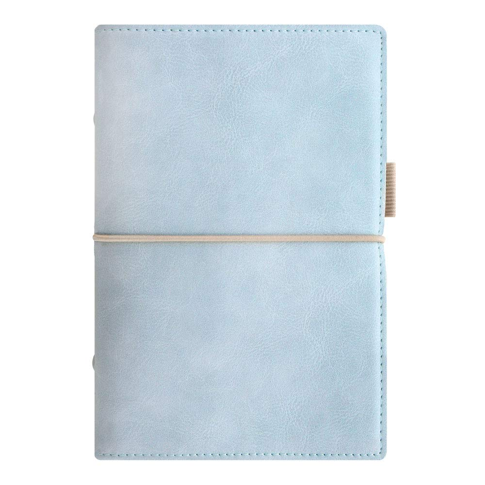 Filofax 2019 Personal Domino Organizer, Soft Pale Blue, 6.75 x 3.75 inches (C022578-19)