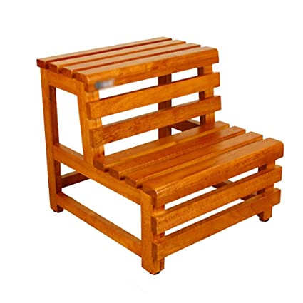 Outstanding Amazon Com Footstools Bathroom Stool Shower Stool Wooden Alphanode Cool Chair Designs And Ideas Alphanodeonline