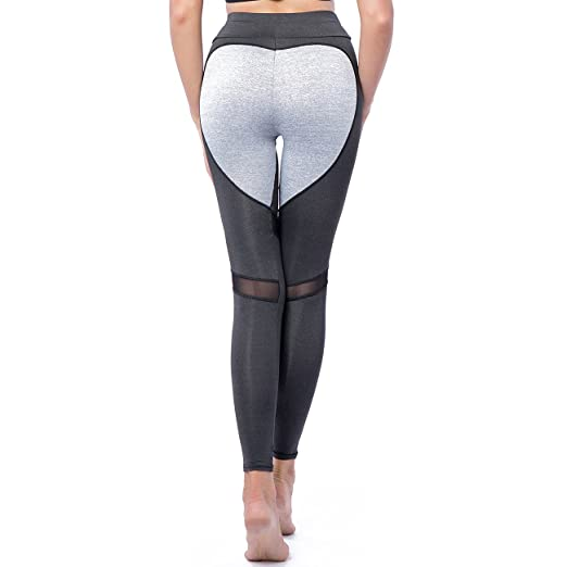 fa75fc00f35e Women's Fitness Leggings Workout Ankle-Length Yoga Pants Super Stretch  Sportwear #