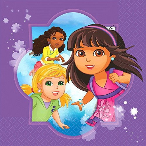 Amscan Dora and Friends Lunch Napkins -