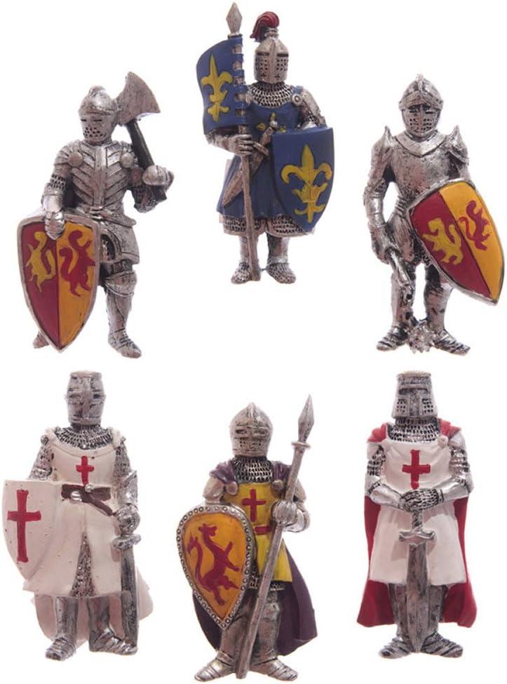 dise/ño de caballero medieval Puckator Figura magn/ética para puerta de nevera