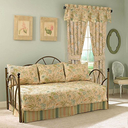 (WAVERLY Cape Coral Cotton Daybed Set, 54 x 105,)