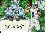 Football NFL 2017 Spectra Signatures Neon Green #18 Marcus Mariota Auto 8/10 Titans