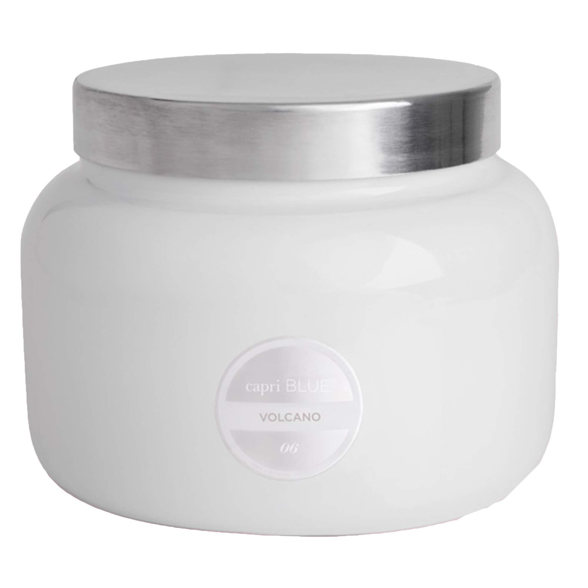 Capri Blue 48 oz Volcano White Jumbo Jar Candle