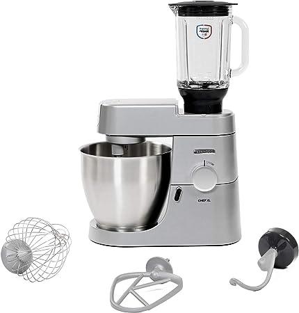 Kenwood Chef XL KVL4120S - Robot de cocina (6,7 L, Plata, Giratorio, CE, Acero inoxidable, Aluminio): Amazon.es: Hogar