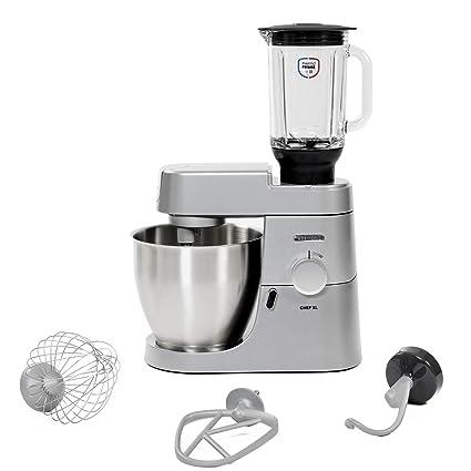 Kenwood Chef XL KVL4120S - Robot de cocina (6,7 L, Plata,