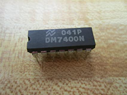 National Semiconductor DM7400N Integrated Circuit Pack of 10