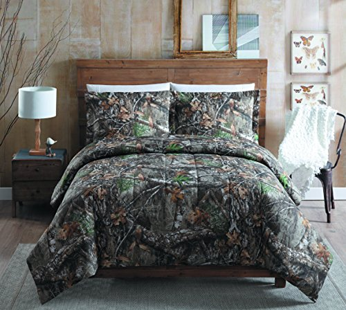 - Realtree Edge Queen Comforter Set, Tan