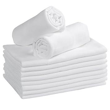 56841cf0c Amazon.com  Prefold Cloth Diapers 3 Layer Muslin Burp Cloths 10 Pack ...