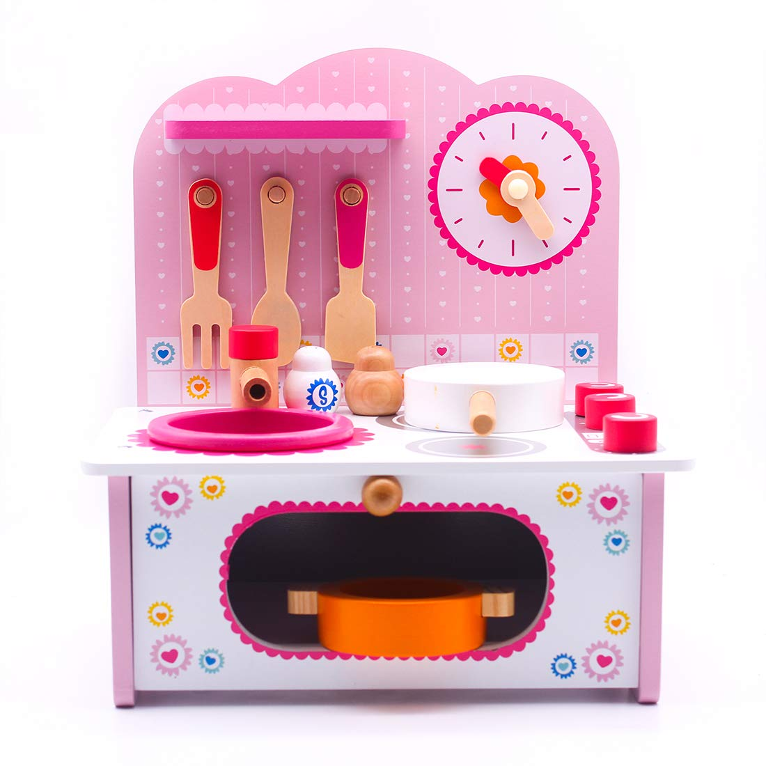 Amazon.com: donado Play Kitchen Set Toy Kitchen Playsets of ...
