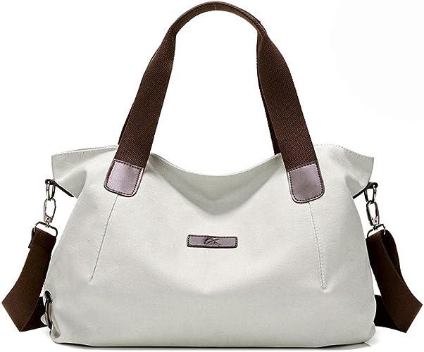 Small Purse Women/'s 3-in-1 Plain Tote Handbag Crossbody Shopper Shoulder Bag