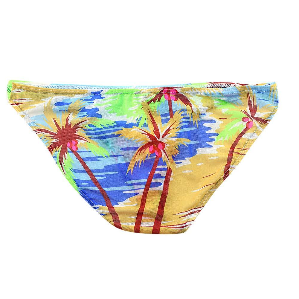 Men's Modal Underwear Bikini Briefs Breathable Underpants