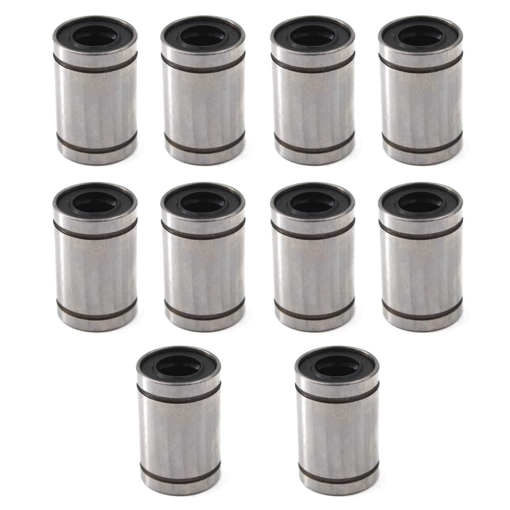 LM10UU Linear Ball Bearing 10x19x29mm Ball Bearing Bushing For 3D Printer 10PCS