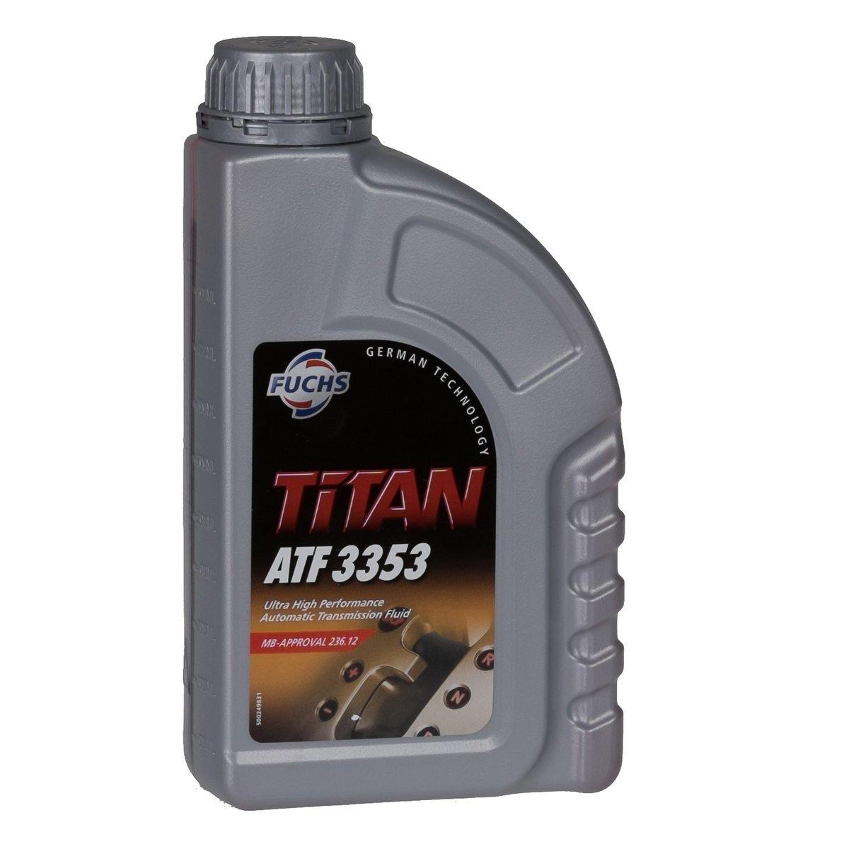 FUCHS Getriebeö l Automatikgetriebeö l TITAN ATF 3353 1L 1 Liter MB 236.12
