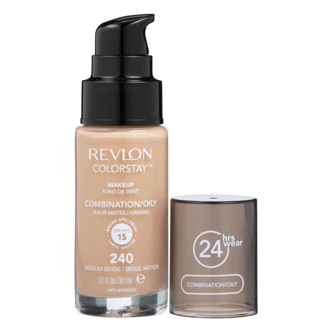Revlon ColorStay Foundation for Combination/Oily Skin, Medium ...