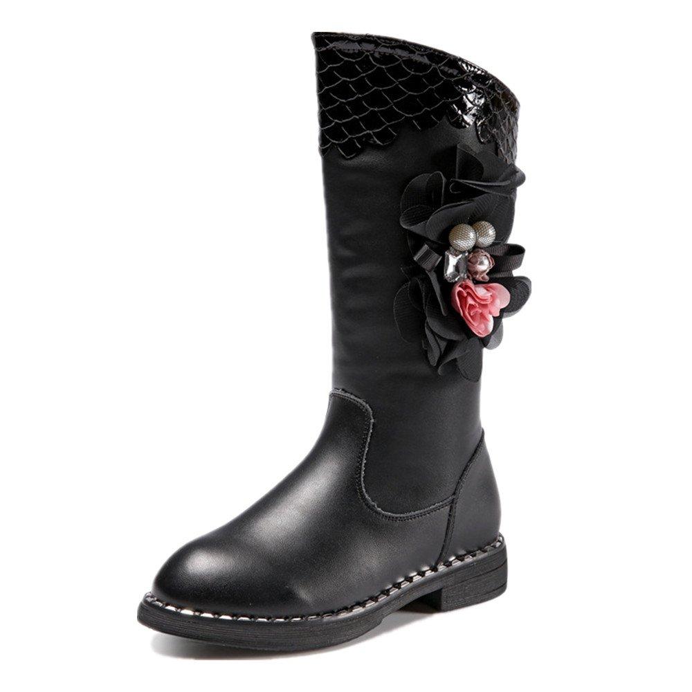 Hanglin Trade Girls BootsWinter Kids Girls Sweet Princess Boot Winter Knee High Snow Boot