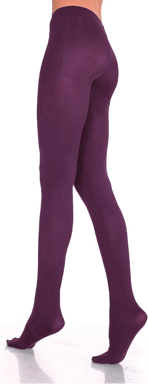 cl/ásicas 60/Denier tama/ño S-M-L-XL Medias ajustadas de la marca Lady Sofia colores de microfibra suave opacas