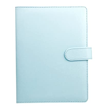 Dxlta Cuaderno A5 Hoja suelta Carpeta de anillas Cuadernos de cuero, para Agenda planner diario papelería Material de oficina