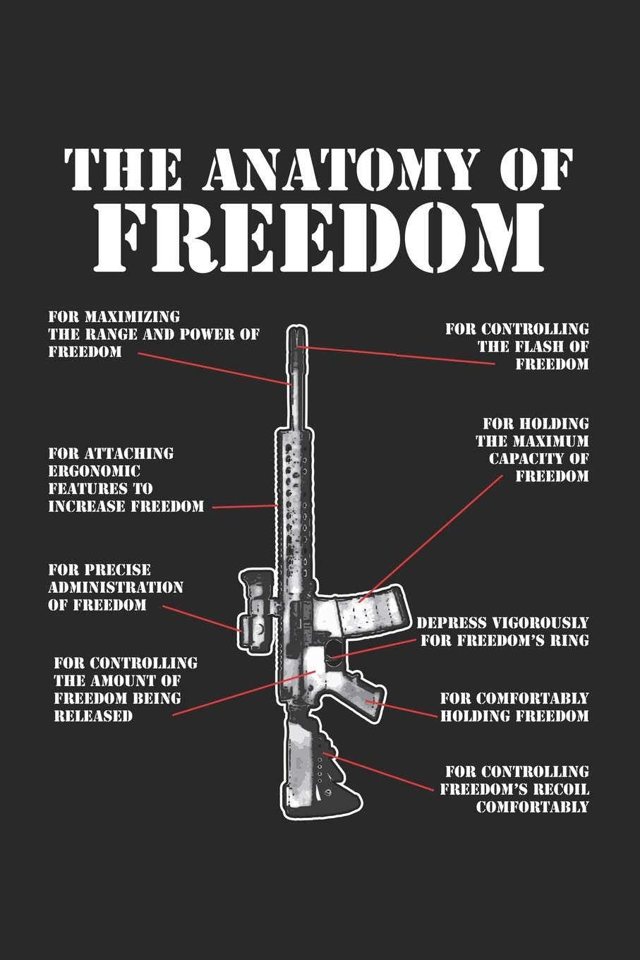 The Anatomy of Freedom: M4 AR15 Assault Rifle Gun ruled